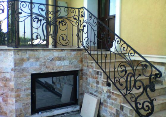 Balustrada din fier forjat, o solutie de design si siguranta la moda